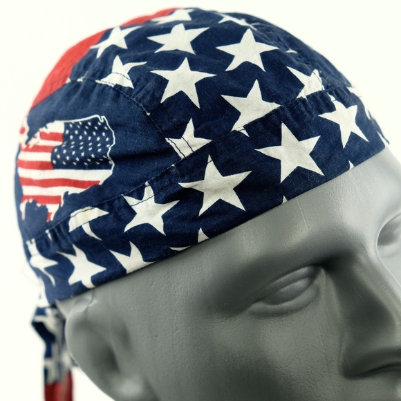 Jor Danna Accessories Jordanna Usa Flag Mens Head Wrap One Size Poshmark